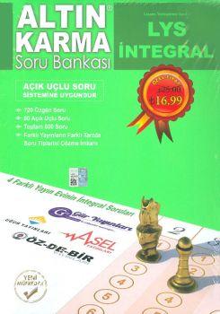 Kitap Ekseni Yayınları LYS İntegral Altın Karma Soru Bankası