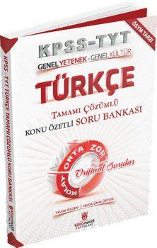 Kitap Mucidi Yayınları KPSS Genel Yetenek Genel Kültür Türkçe Tamamı Çözümlü Konu Özetli Soru Bankası