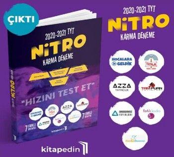 Kitapedin Yayınları 2021 TYT Nitro Karma Deneme