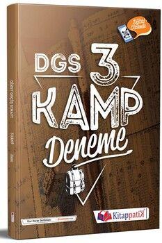 Kitappatik DGS Kamp 3 Deneme Dijital Çözümlü