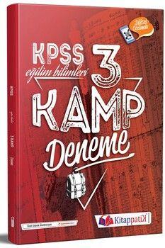 Kitappatik KPSS Eğitim Bilimleri Kamp 3 Deneme Dijital Çözümlü