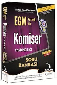 Kitapseç 2016 EGM Komiser Yardımcılığı Soru Bankası Mustafa Kemal Tolunay