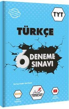 Kondisyon Yayınları TYT Türkçe 6 Deneme Sınavı