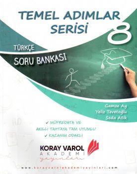 Koray Varol Akademi 8. Sınıf Türkçe Temel Adımlar Serisi Soru Bankası