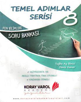 Koray Varol Akademi 8. Sınıf Fen Bilimleri Temel Adımlar Serisi Soru Bankası
