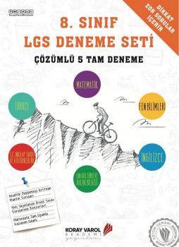 Koray Varol Akademi 8. Sınıf LGS Çözümlü 5 Tam Deneme