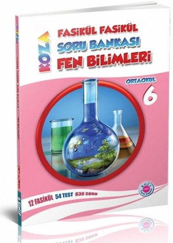 Koza Yayınları 6. Sınıf Fen Bilimleri Fasikül Fasikül Soru Bankası