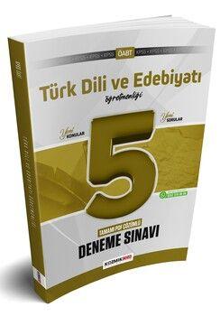 Kozmik Oda 2021 ÖABT Türk Dili ve Edebiyatı Öğretmenliği 5 li Deneme