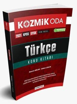 Kozmik Oda 2021 KPSS Türkçe Konu Kitabı
