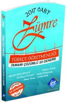 KR Akademi 2017 ÖABT Zümre Türkçe Öğretmenliği Tamamı Çözümlü 10 Deneme