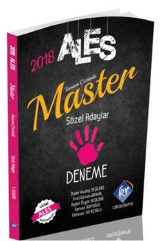 KR Akademi 2018 ALES Master Sözel Adaylar Tamamı Çözümlü 5 Deneme
