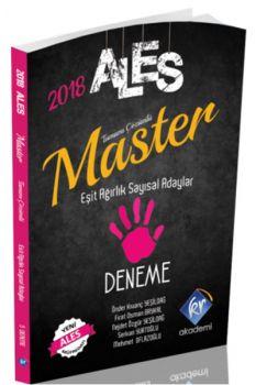 KR Akademi 2018 ALES Master Sayısal ve Eşit Ağrılık Adayları Tamamı Çözümlü 5 Deneme