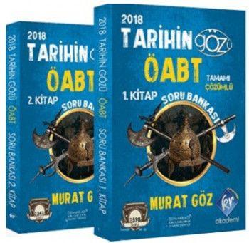 KR Akademi 2018 ÖABT Tarihin Gözü Tamamı Çözümlü Soru Bankası 2 Cilt