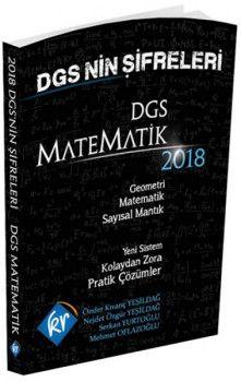 KR Akademi 2018 DGS nin Şifreleri Matematik Geometri Sayısal Mantık Tamamı Çözümlü Soru Bankası
