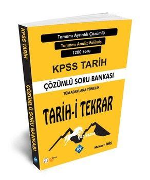 KR Akademi 2020 KPSS Tarih-i Tekrar Çözümlü Soru Bankası