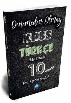 KR Akademi 2020 KPSS Türkçe Denemeden Olmaz 10 Deneme Video Çözümlü