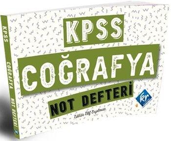 KR Akademi 2021 KPSS Coğrafya Konu Anlatımlı Not Defteri