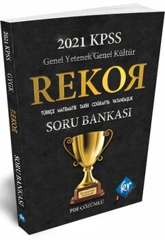 KR Akademi 2021 KPSS Genel Yetenek Genel Kültür Tüm Dersler Rekor Soru Bankası