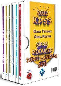KR Akademi 2022 KPSS Genel Yetenek Genel Kültür Şifre Modüler Soru Bankası Seti