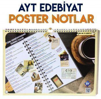 KR Akademi AYT Edebiyat Posteri