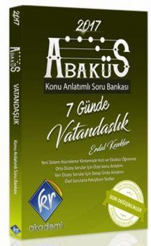 KR Akademi KPSS Abaküs Vatandaşlık Konu Anlatımı ve Soru Bankası