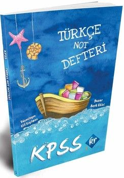 KR Akademi KPSS Türkçe Not Defteri