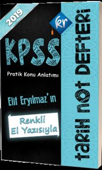 KR Akademi2019 Kpss Tarih Not Defteri