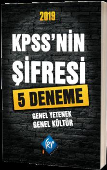 KR Akademi2019 KPSS\'nin Şifresi 5 Deneme