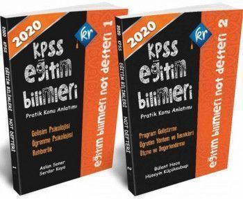 KR Akademi2020 Kpss Eğitim Bilimleri Not Defterleri 2 Cilt