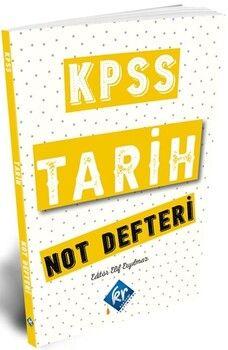KR Akademi2021 KPSS Tarih Konu Anlatımlı Not Defteri