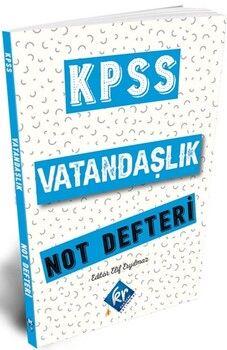 KR Akademi2021 KPSS Vatandaşlık Konu Anlatımlı Not Defteri