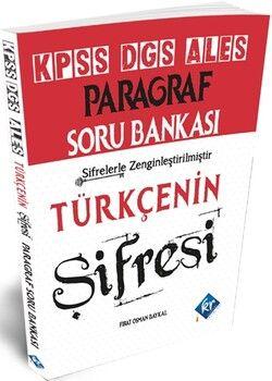 KR Akademi2021 KPSS ALES DGS Türkçenin Şifresi Paragraf Soru Bankası