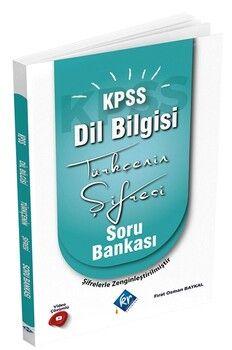 KR Akademi2022 KPSS Türkçenin Şifresi Dil Bilgisi Soru Bankası
