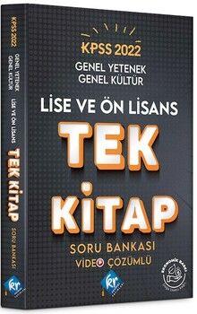 KR Akademi2022 KPSS Lise Ön Lisans Genel Yetenek Genel Kültür Tek Kitap Soru Bankası