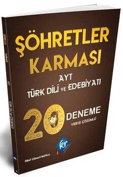 KR AkademiAYT Şöhretler Karması Türk Dili ve Edebiyatı Video Çözümlü 20 Deneme