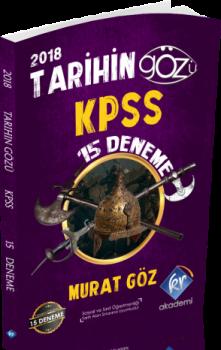 KR AkademiTarihin Gözü 2018 KPSS 15 Deneme