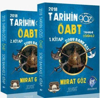 KR AkademiTarihin Gözü 2018 ÖABT Soru Bankası (2 Cilt)