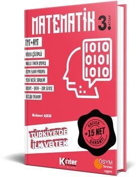 Kriter Akademi TYT AYT Matematik 15 Net Garanti 3. Kitap
