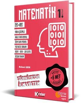 Kriter Akademi TYT AYT Matematik 5 Net Garanti 1. Kitap
