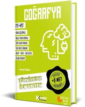 Kriter Akademi YayınlarıKriter Akademi TYT AYT Coğrafya 5 Net Garanti