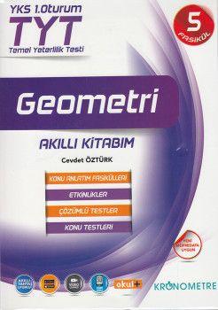 Kronometre TYT Geometri Akıllı Kitabım Konu Anlatım Fasikülleri 5 Kitap