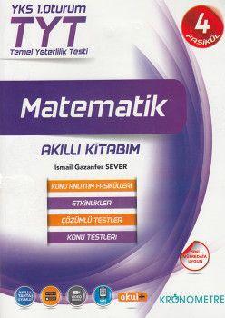 Kronometre TYT Matematik Akıllı Kitabım Konu Anlatım Fasikülleri 4 Kitap