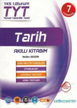 Kronometre Yayınları TYT Tarih 7 Fasikül Akıllı Kitabım