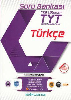 Kronometre Yayınları TYT Türkçe Soru Bankası