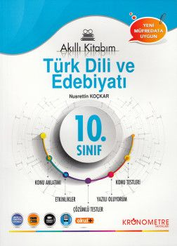 Kronometre Yayınları 10. Sınıf Türk Dili ve Edebiyatı Akıllı Kitabım