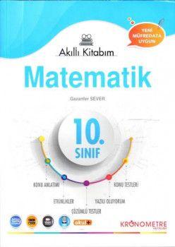 Kronometre Yayınları 10. Sınıf Matematik Akıllı Kitabım