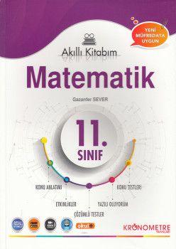Kronometre Yayınları 11. Sınıf Matematik Akıllı Kitabım