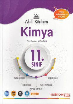 Kronometre Yayınları 11. Sınıf Kimya Akıllı Kitabım