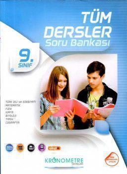 Kronometre Yayınları 9. Sınıf Tüm Dersler Soru Bankası