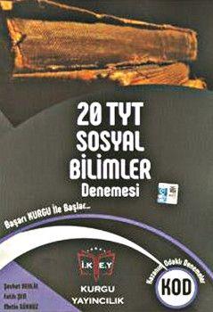 Kurgu Yayınları YKS 1. Oturum TYT Sosyal Bilimler 20 Deneme